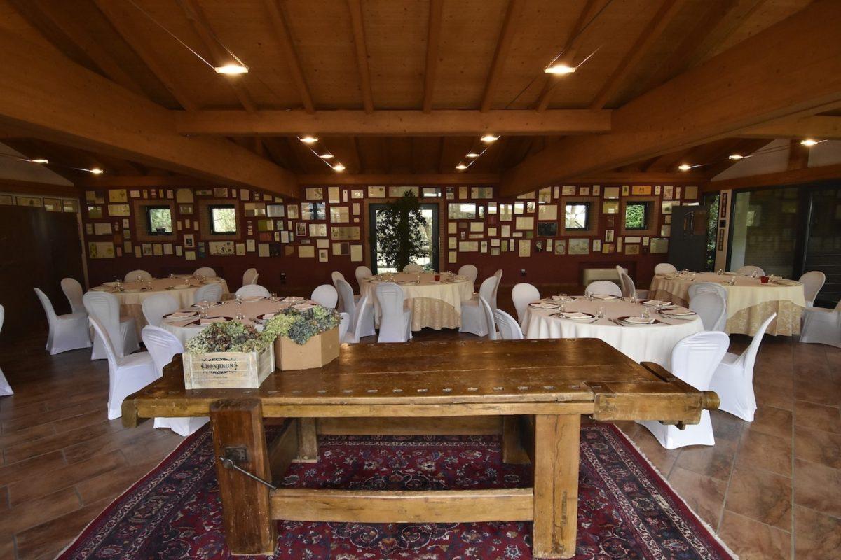 La sala Grandi Firme - Diodona