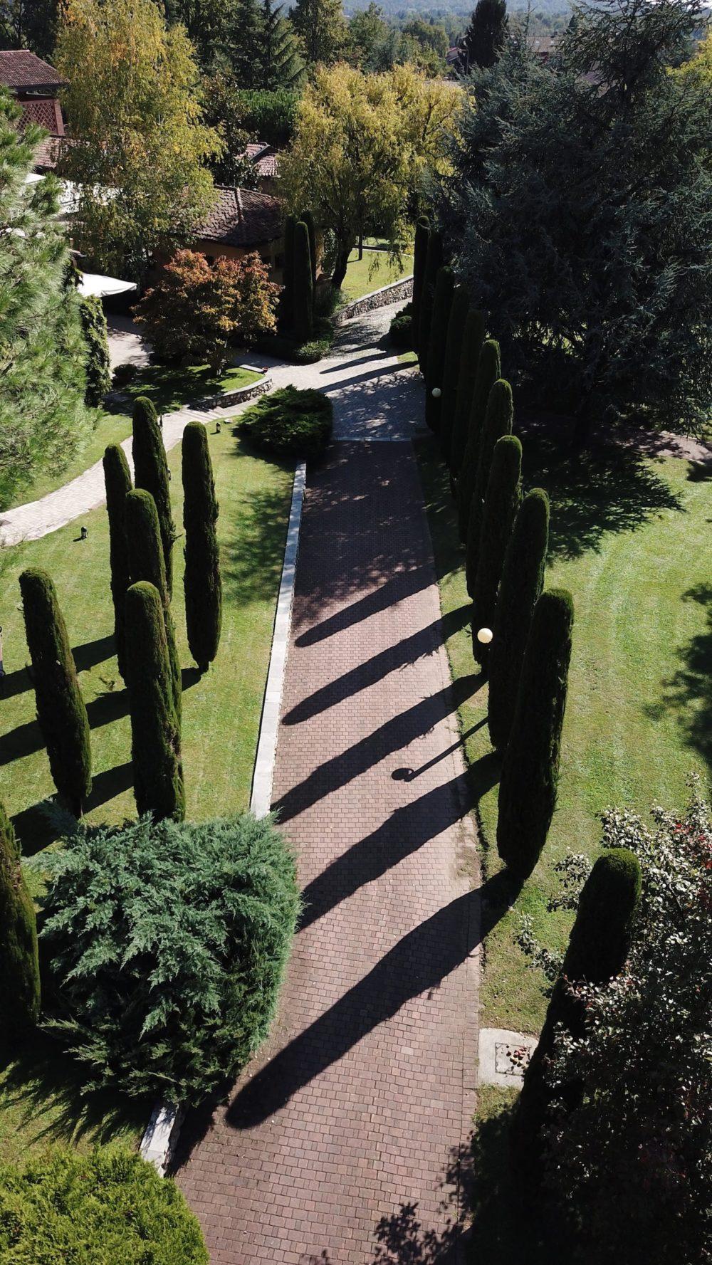 Vialetto ingresso Diodona