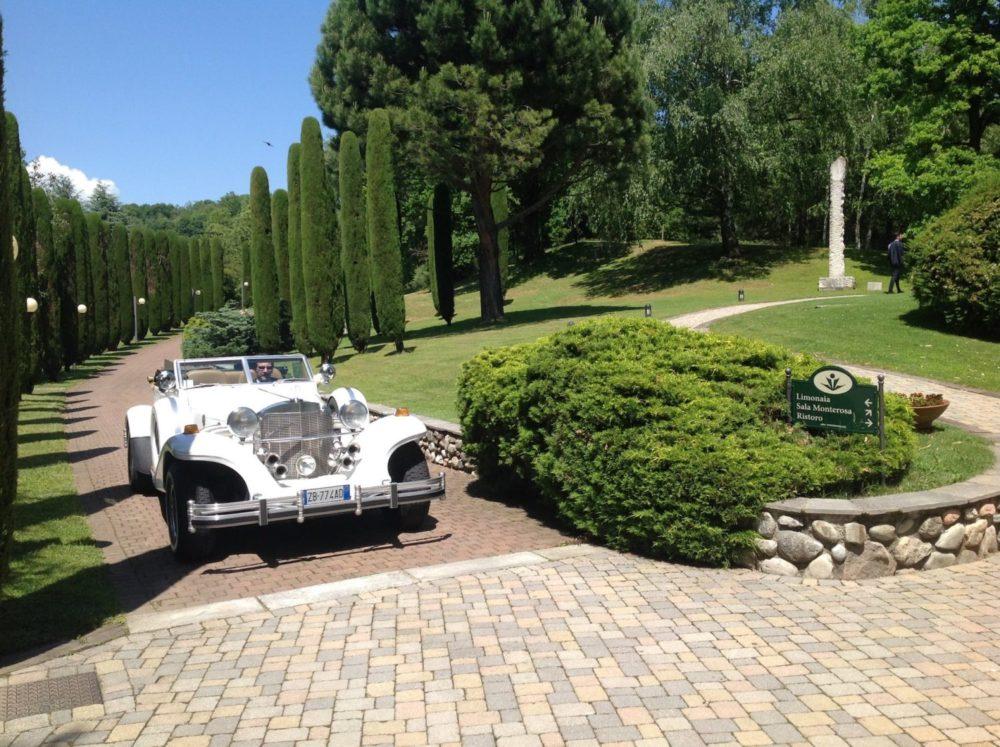 Location nozze con parco Varese