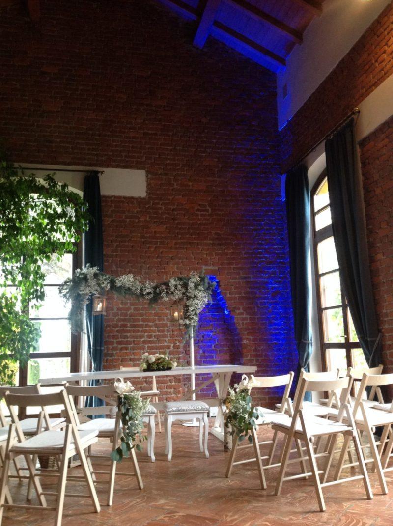 cerimonia granaio matrimonio