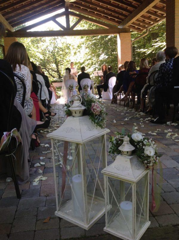 cerimonia simbolica laghetto