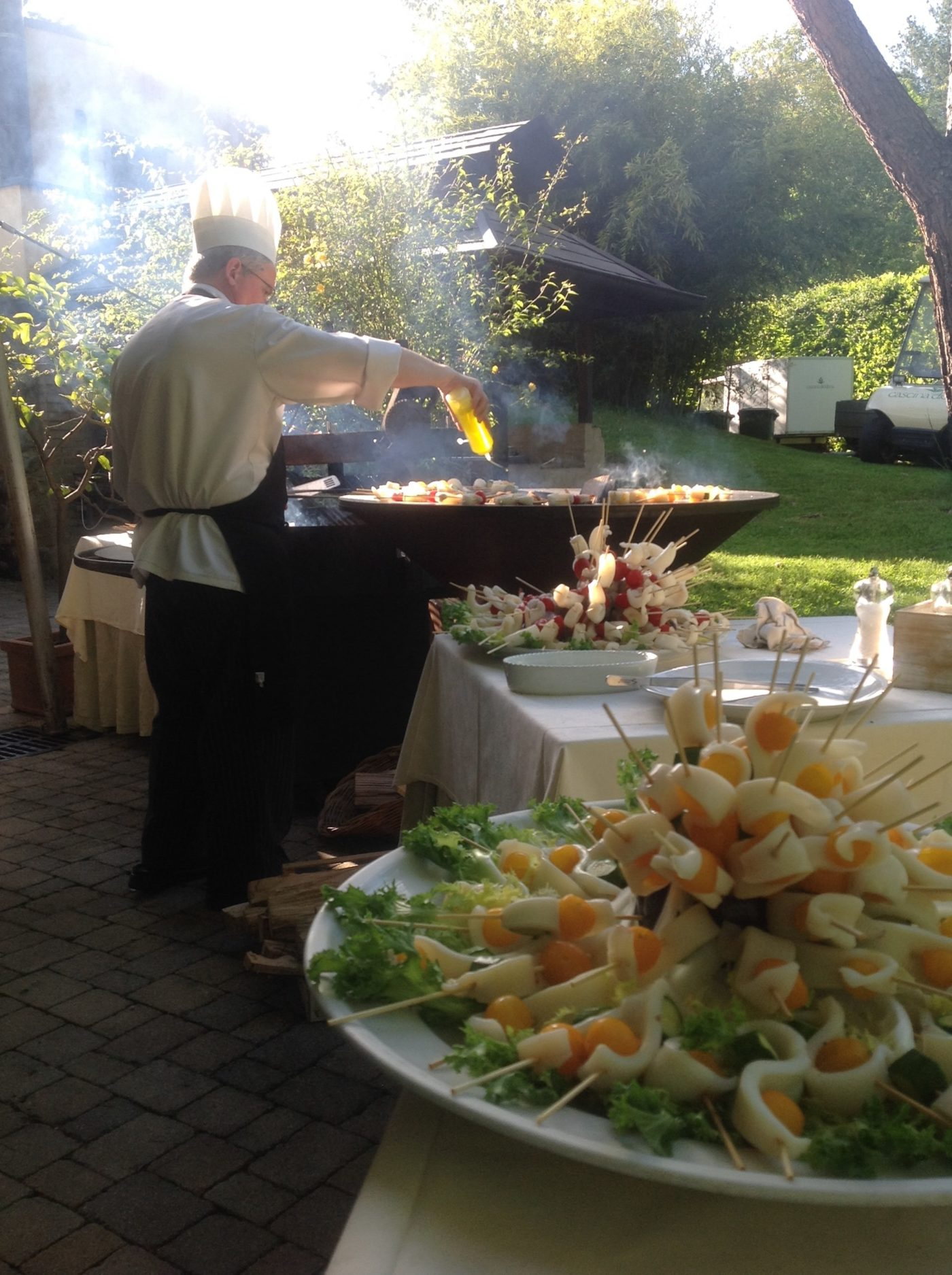 griglie aperitivo evento