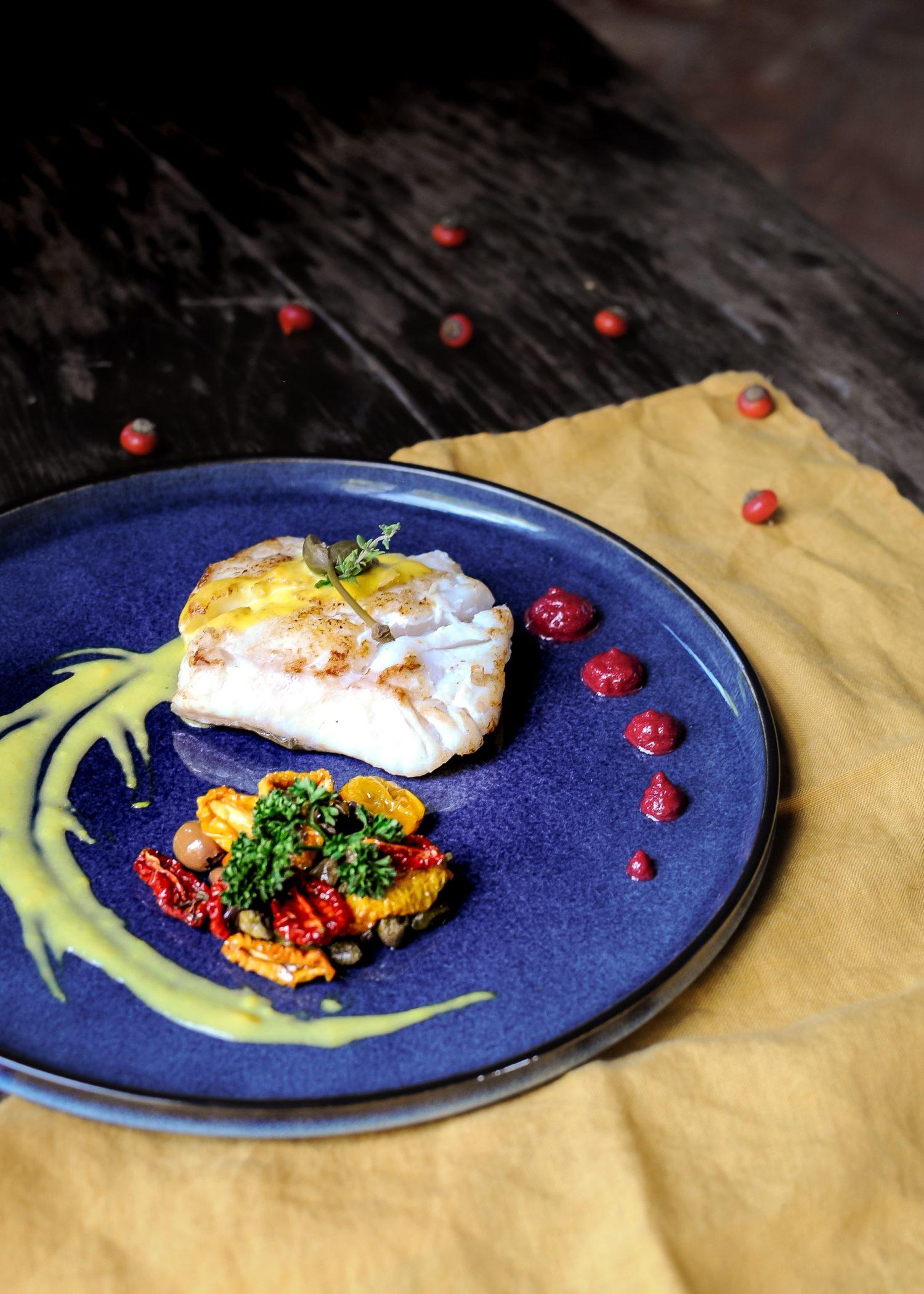 Piatto di pesce Diodona