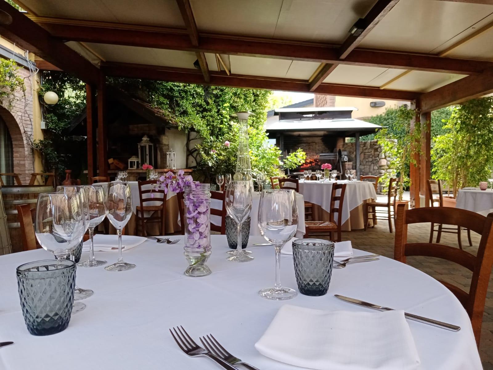 ristorante all'aperto diodona
