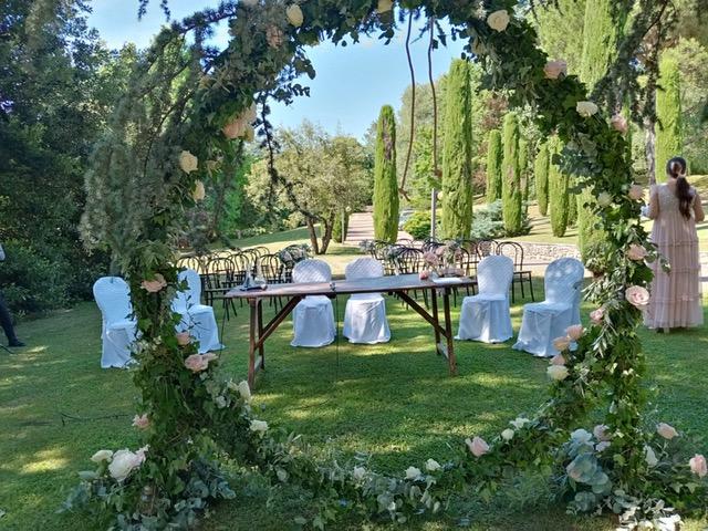 cerimonia nozze all'aperto